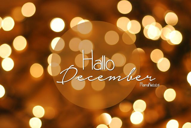 Hallo December - MamaKletst.nl