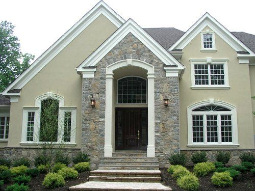 1000 images about front entrance ideas on pinterest for Build on your lot new jersey