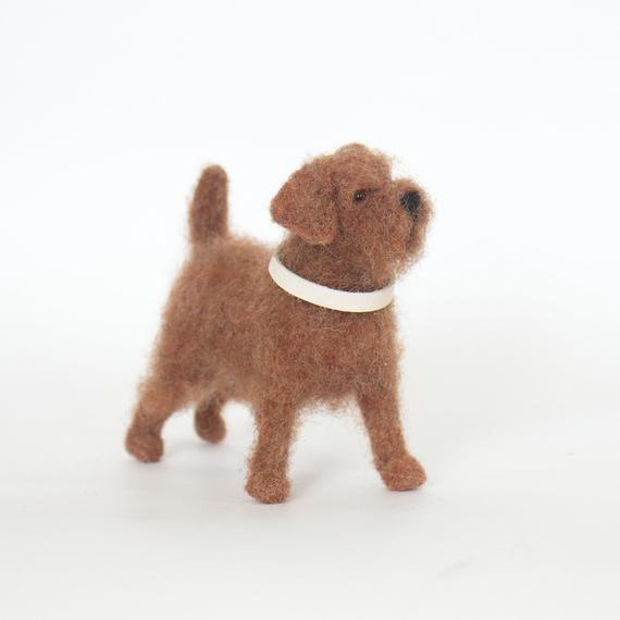 Norfolk Terrier Gefilzt Gefullten Hund Miniatur Terrier Wolle Terrier Kopie Norfolk Terrier Terrier Und Hunde