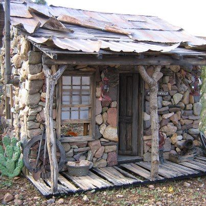 48 best images about old stone sheds on pinterest for How to build a stone cabin