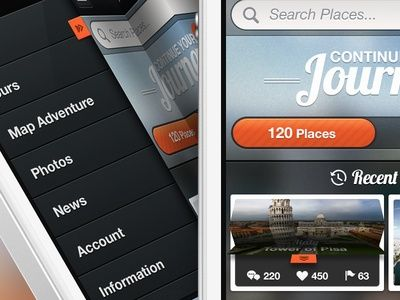 30  stunning and modern UI designs | From up North