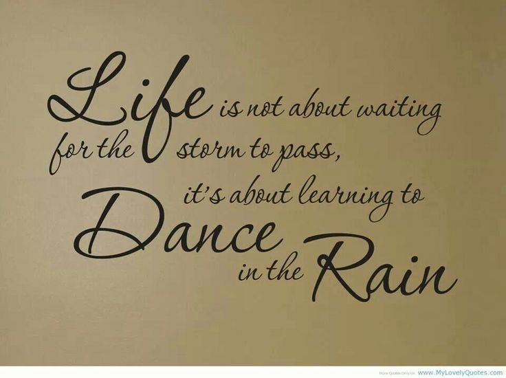 Lifes ..storms