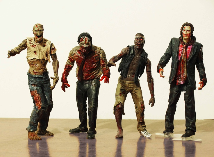 Walking Dead Zombies in my bedroom...