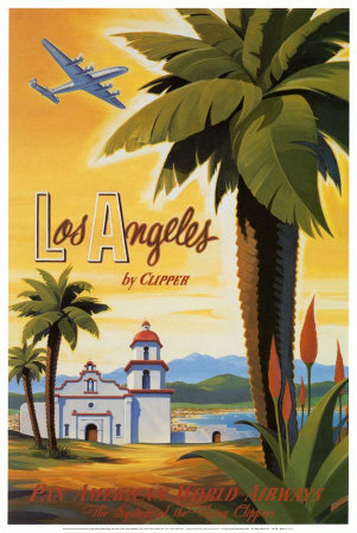 Best Images About Art Kerne Erickson On Pinterest Toms Los - Los angeles posters vintage