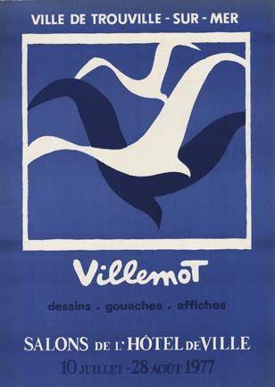 Ville de Trouville Sur Mer, Bernard Villemot - reminds me of holidays