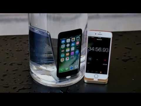 iPhone 7 water test secretly waterproof
