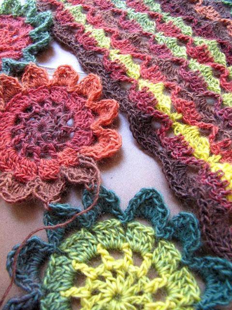 Japanese Flower Crochet Afghan Pattern : Pin by Zana Evans on crochet Pinterest