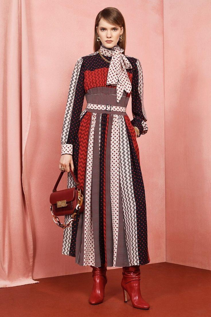 ports 1961 pre fall 2020 lange kleider modetrends frauenoutfits