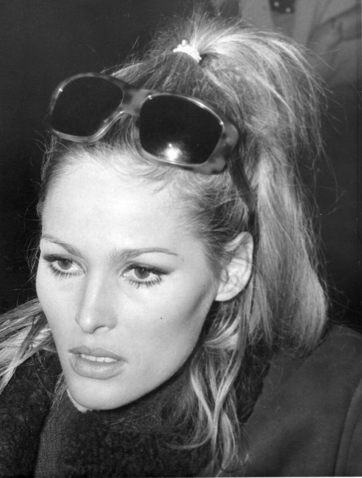 Ursula Andress, ca. 1971.