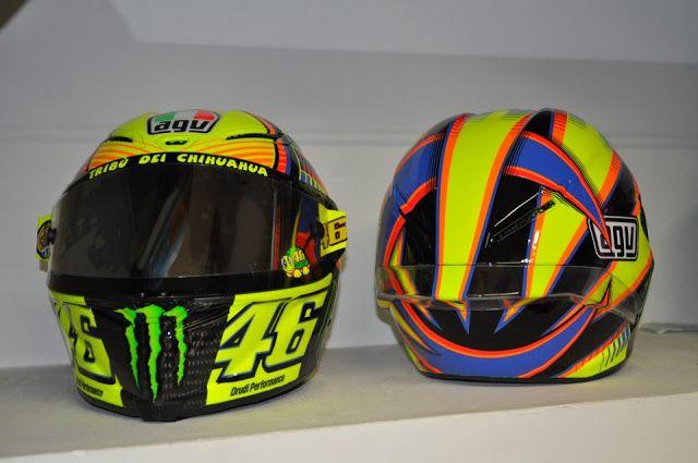 Racing Helmets Garage: Agv PistaGP V.Rossi 2013 by Drudi Performance & DiD Design
