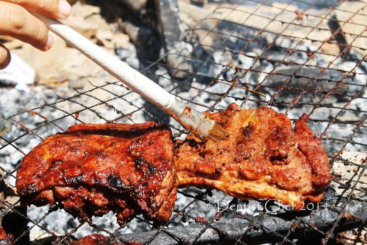 recipe Bali style grilled baby back ribs barbeque pork ribs sweet soy sauce  iga babi bumbu bali panggang kecap manis