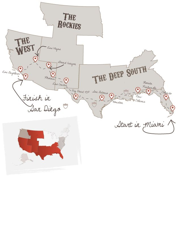 Southern Crossover | The American Road Trip Company