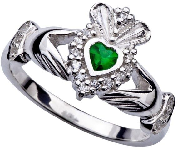 Populaire The 25+ best Silver claddagh ring ideas on Pinterest | Irish heart  CQ85