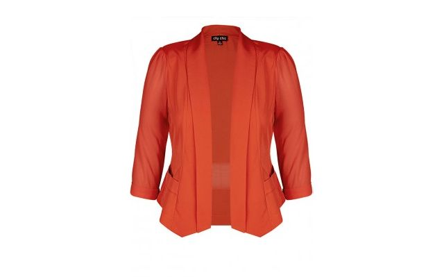 6 Plus Size Blazers for Work: Drapey Blazer Jacket