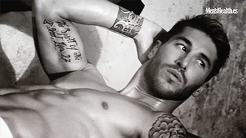 Sergio Ramos... Hello ;)
