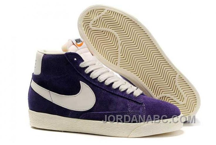 http://www.jordanabc.com/nike-blazer-mid-vntg-womens-purple-sail-shoes.html NIKE BLAZER MID VNTG WOMENS PURPLE SAIL SHOES Only $78.00 , Free Shipping!