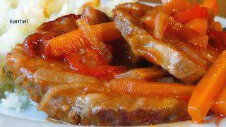 Zapachy Kuchni: karkówka pieczona z warzywami