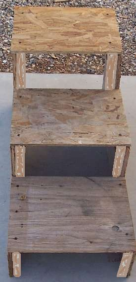 Build Doggie Stairs - tutorial