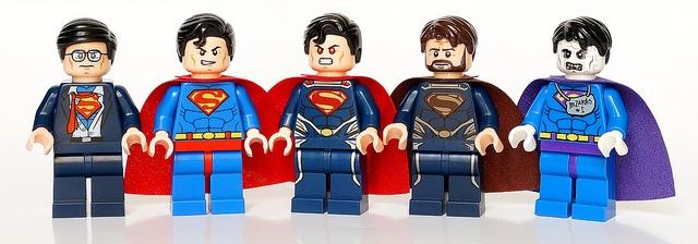 Superman & co - Clak Kent, original Superman, Superman 2013 Jor-el and Bizarro #Superman #DC
