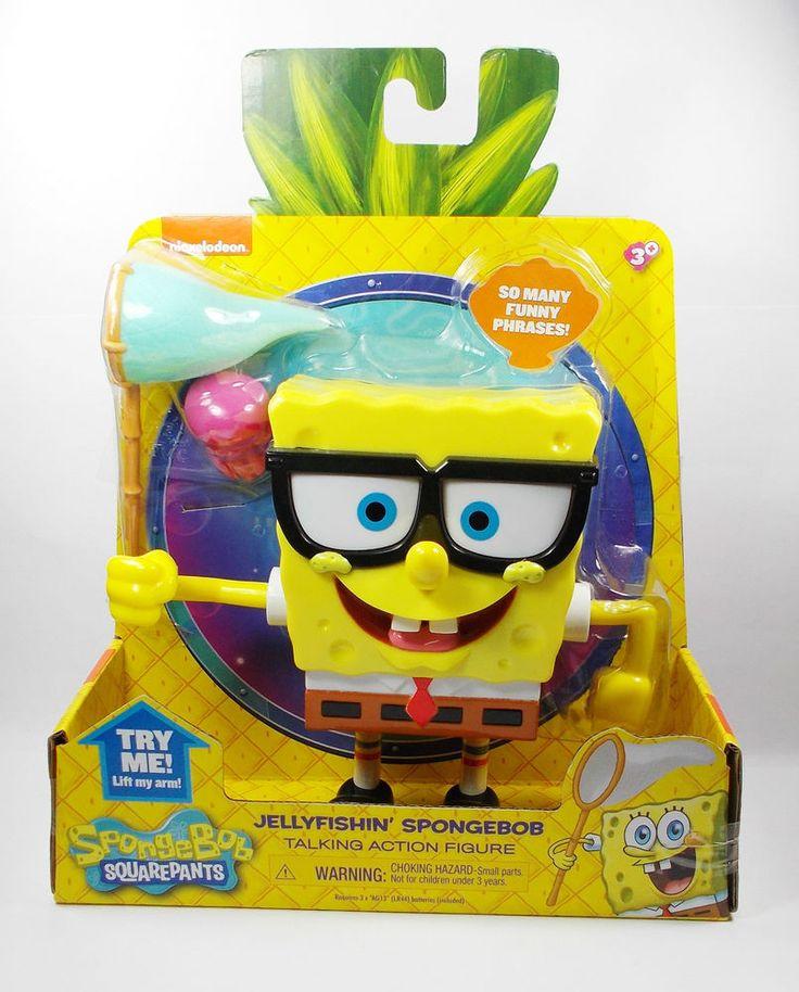 SpongeBob Squarepants - Talking Action Toy Figure