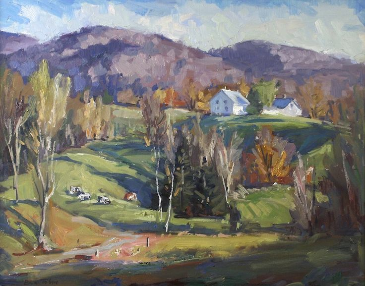 91 best images about vermont 39 s seasonal landscapes on for Eric mural painter