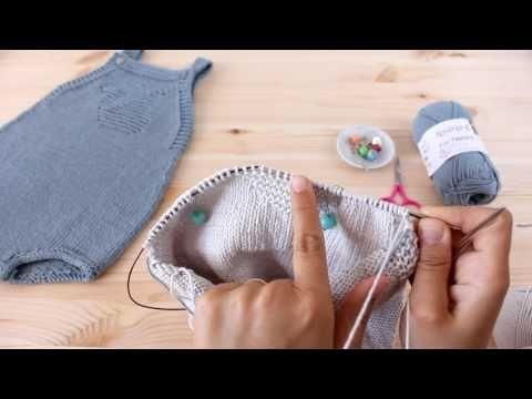 "(9) Tricotar para bebé - ""Fofo Baleia"" - video tutorial 1ª parte (baby overall tutorial) - YouTube"