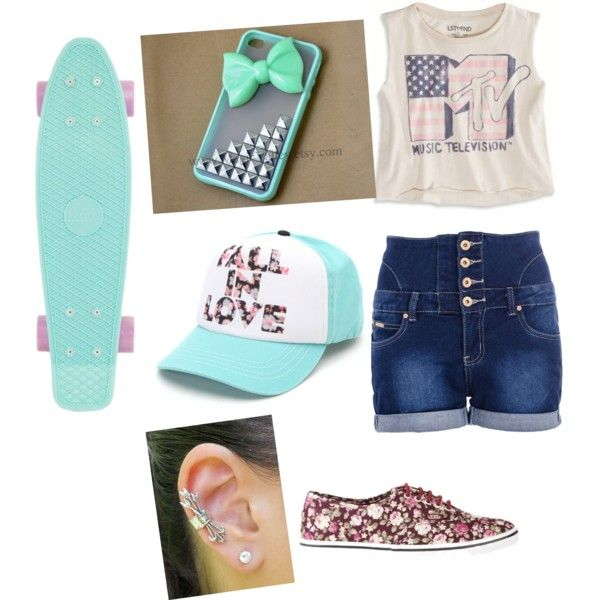 Skater girl outfit ❤