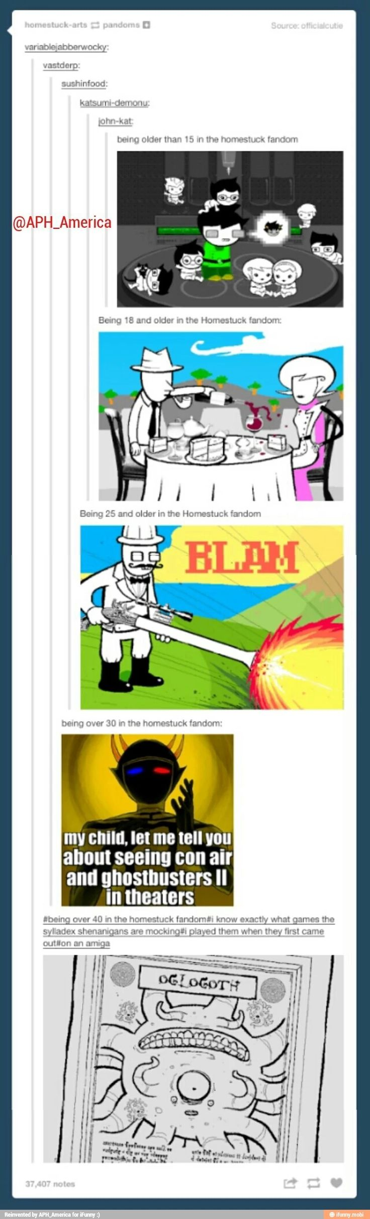 There are people over 40 in the homestuck fandom<--- Wow.<<<people have already named their kids after the trolls