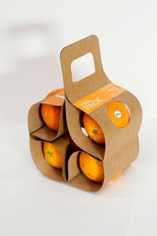 WeeklyDesignNews(N.60)オレンジの持ち運びを容易にするパッケージデザイン