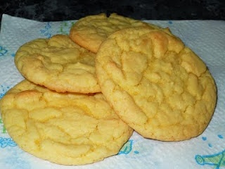 Cookies made from Cake Mix