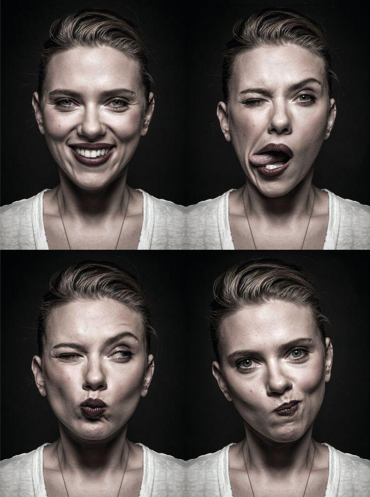 Scarlett Johansson par Andy Gotts