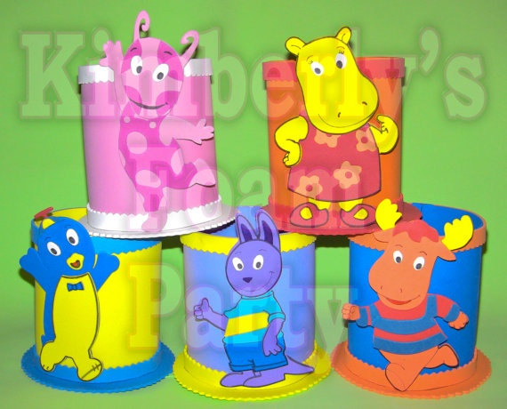 123 best the backyardigans party ideas images on pinterest for Backyardigans party decoration