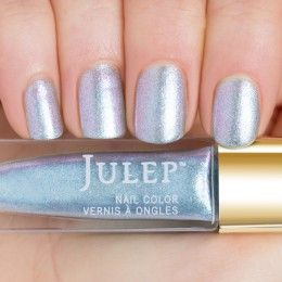 Julep - Liza (March 2015 birthstone) Aquamarine iridescent shimmer