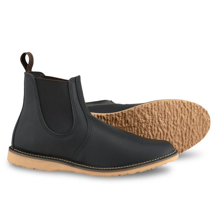 Red Wing Heritage CHELSEA BOOT + CARE KIT in Black
