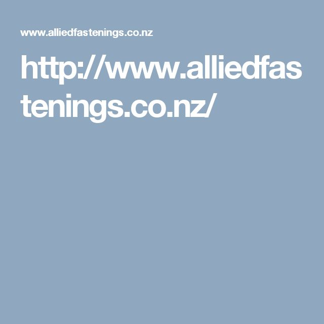 http://www.alliedfastenings.co.nz/