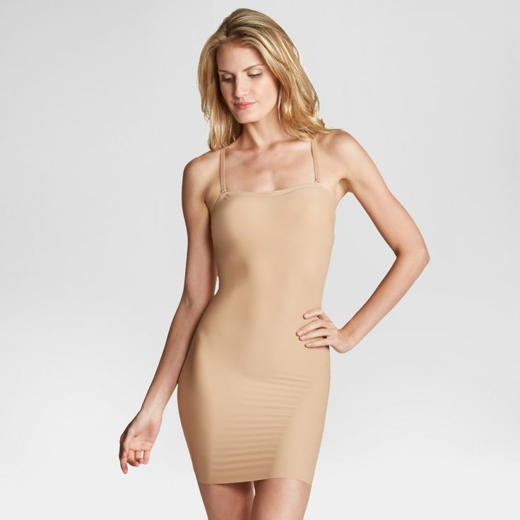 Assets by Spanx Women's Micro Shaping Convertible Slip - B