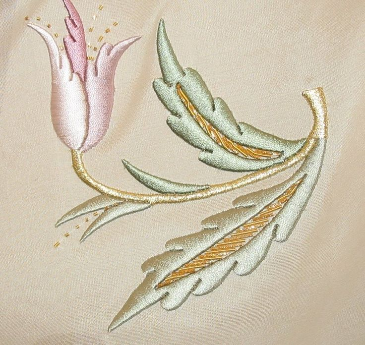 Using silks is my Holy Grail of goals in my embroidery, but even at my best, I'll probably never achieve this.