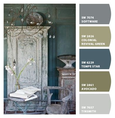 Paint colors from Chip It! by Sherwin-Williams possible color scheme for house? Maybe... Not convinced yet @Travis Vachon Vachon Corkery whaddya think?