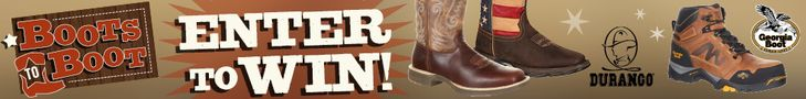 This month's Boots to Boot winner will get to choose from a pair of Georgia Boots (Ends 1/31) #Giveaway