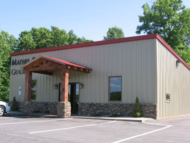Steel and metal, pre-engineered buildings are available for commercial use. Give us a call today to find out how you can get one built today.