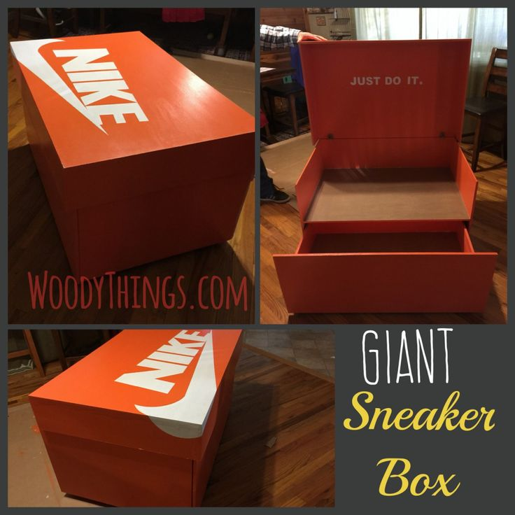Just as trendy as the shoes are, so is the proper way display and store them. Check out this version of the Giant Sneaker Box. Prices include a $100 Shipping Reserve. Any potential difference is r…