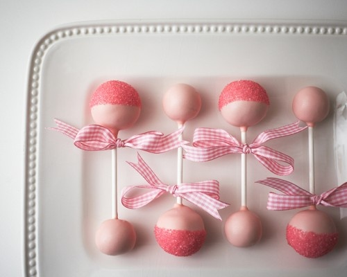 Cake Pop Baby Rattle How-To - Baby Girl Shower - Projects Cakegirls