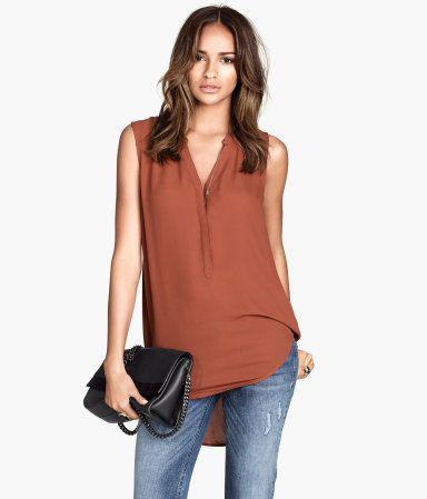 H&M Sleeveless blouse 399 Kč