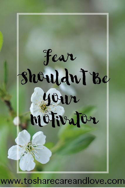 Does Fear run how you parent? Check out my guest post over at To Share Care and Love today!