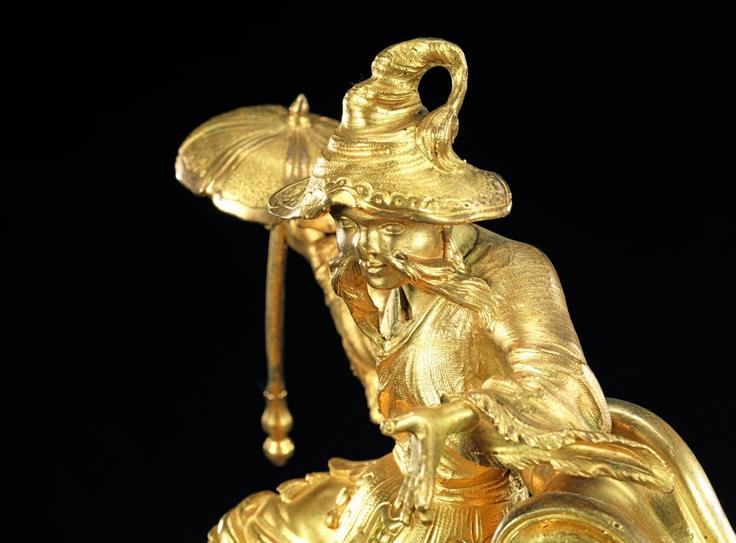 Lot de vente aux enchères : PENDULE ROCAILLE « AU CHINOIS » - Kohn - Auction