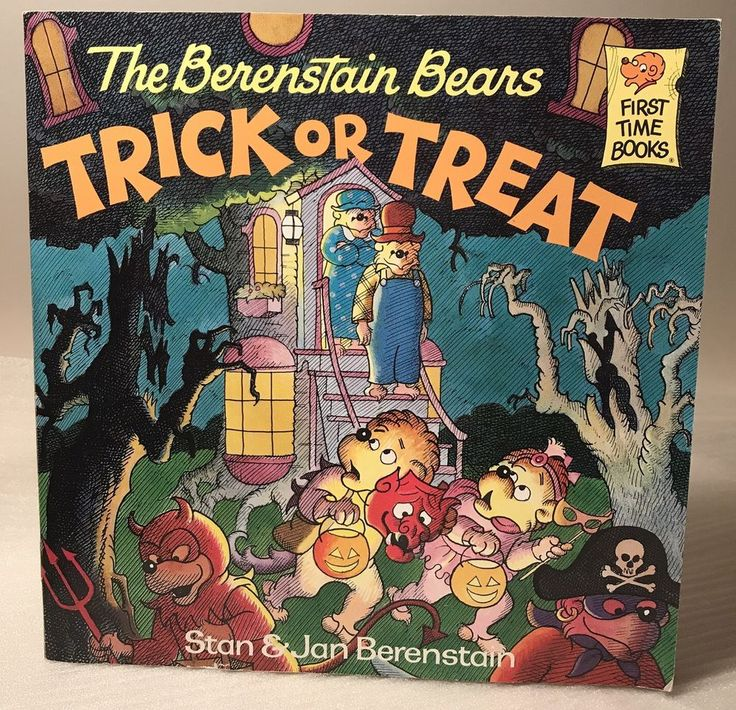 The Berenstain Bears Trick or Treat First Time Books Paperback Children's Reader  | eBay