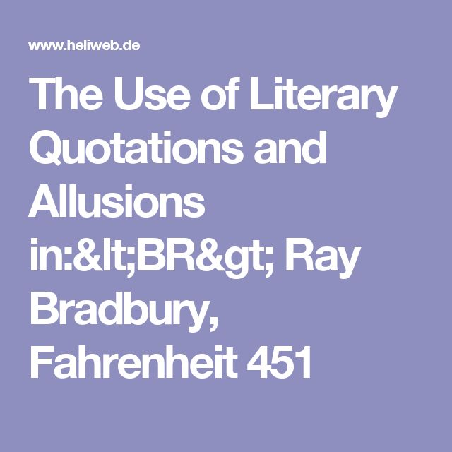 an analysis of the book fahrenheit 451 by ray bradbury Fahrenheit 451 by ray bradbury (book analysis): detailed summary, analysis and reading guide - ebook written by bright summaries  read this book using google play books app on your pc, android, ios devices.