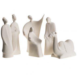 Pesebre Belén 30 cm. arcilla refractaria | venta online en HOLYART