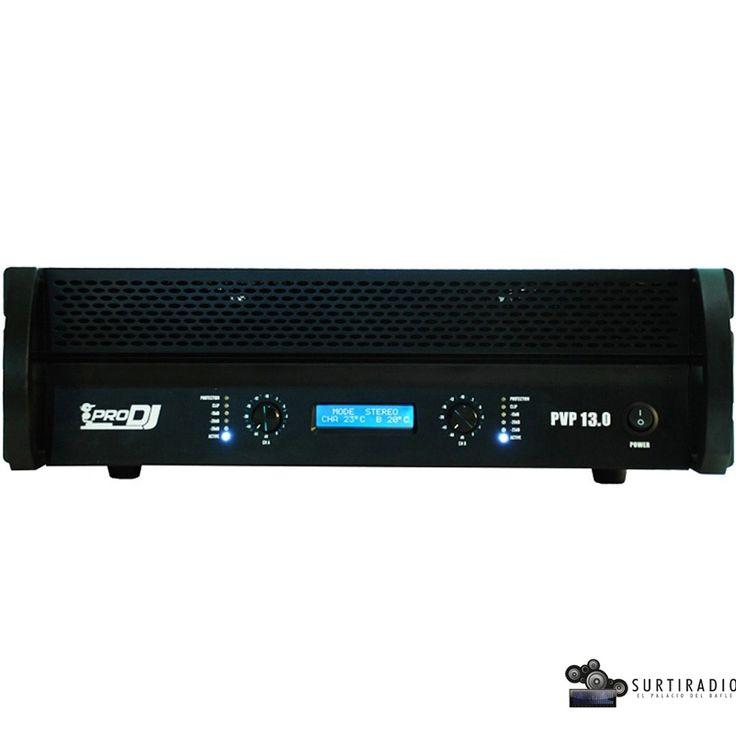 Amplificador de potencia PVP-13, PRO DJ tan solo $1.900.000.