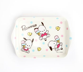 Pochacco Mini Melamine Tray: Ice Cream